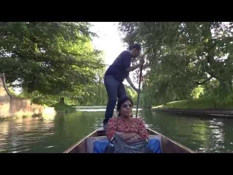 Punting on Cam River, Cambridge