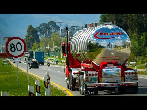 RUMBO A PEREIRA -  EN TRACTOMULA KENWORTH T800 ♥️ - COLOMBIA 🇨🇴