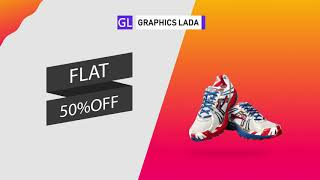Simple attractive Banner design for your product