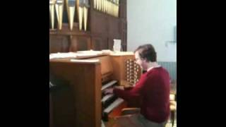 Widor Allegro from 6th Organ Symphony (extract) YouTube Thumbnail