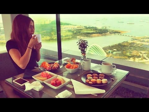 Afternoon Tea at Marina Bay Sands Singapore Hotel