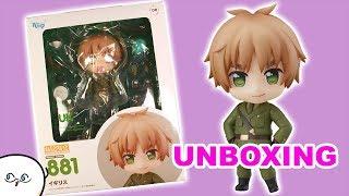 ENGLAND Nendoroid Hetalia Anime Figure Unboxing/Review