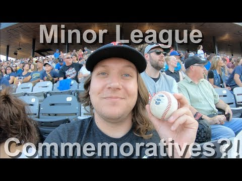 CATCHING A COMMEMORATIVE AT A MINOR LEAGUE ALL-STAR GAME?!