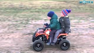 Детский бензиновый квадроцикл X 16 (Часть 5)| Детский квадрик | Квадроцикл для детей(Тест драйв детского квадроцикла MOTAX X 16 с электростартером. Данная модель квадроцикла подходит детям от..., 2015-12-01T14:58:28.000Z)