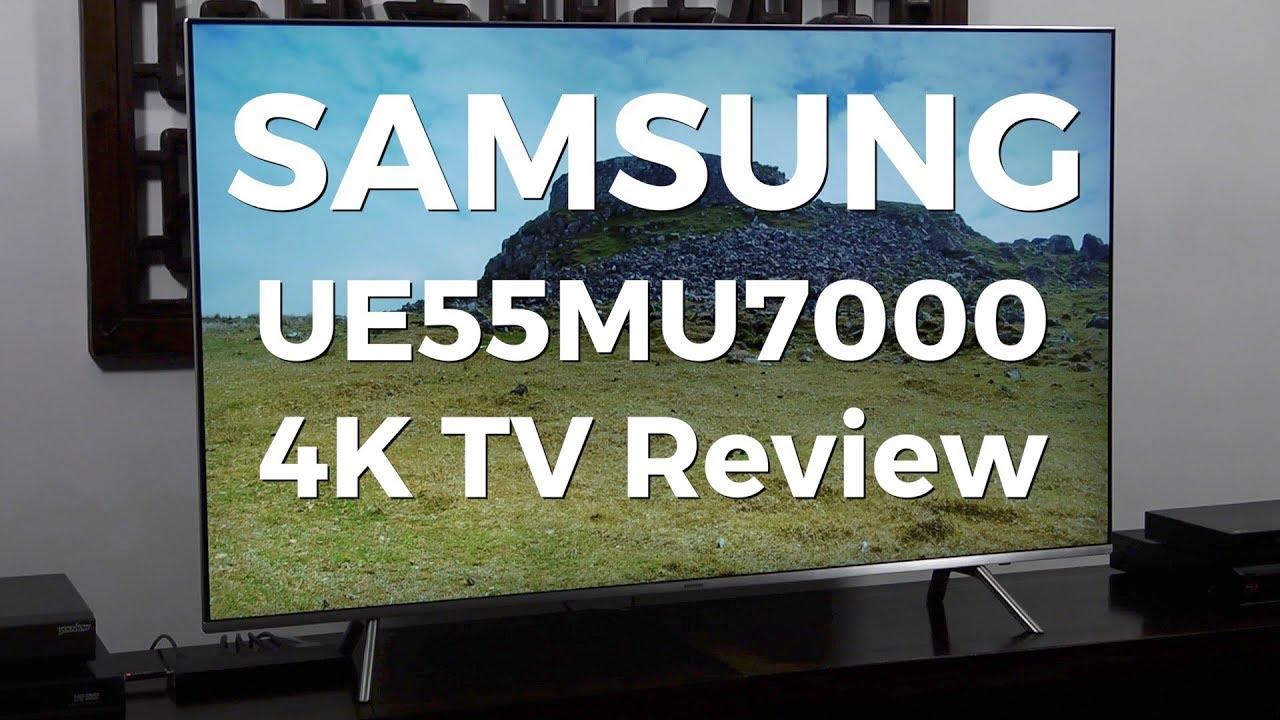 samsung ue55mu7000. samsung ue55mu7000 4k hdr lcd tv review ue55mu7000 r