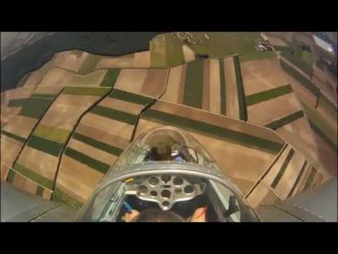 Blanik L13 aerobatic day GoPro HD