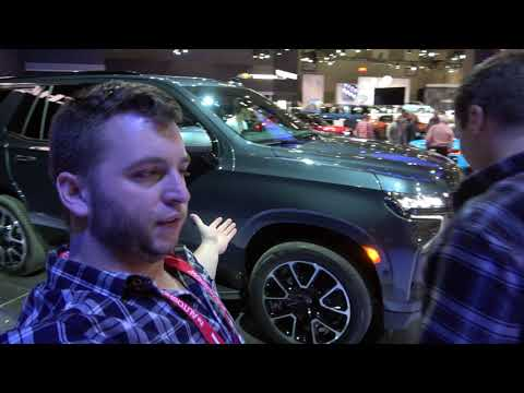 2021 Chevrolet Tahoe RST Inside Out Review