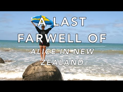 Alice in New Zealand #25 A last farewell