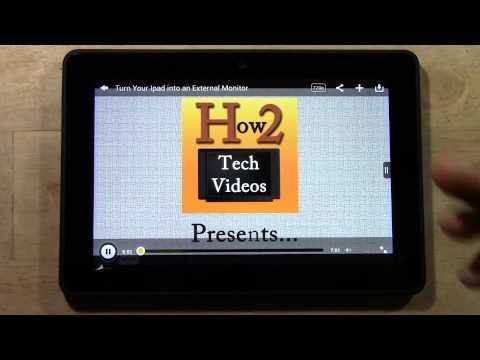 Kindle Fire HDX - vTube App (Amazons Stock YouTube App)   H2TechVideos