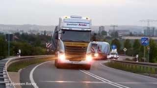 Bender Schwertransporte - Mit voller Kraft nach Hannover