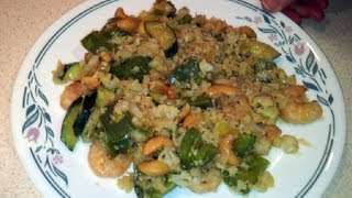 How To Make Cajun Prawns (shrimp) With Cauliflower Rice (paleo/primal/dr Poon Low-carb)