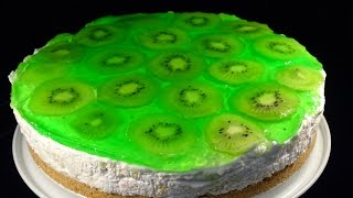 No-Bake Kiwi Cheesecake- with yoyomax12