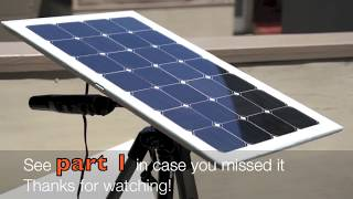 High Efficiency Solar Panel (part 2)