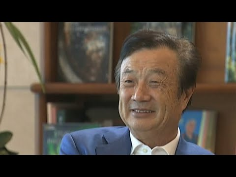 Huawei CEO Ren Zhengfei discusses the current issues facing his company