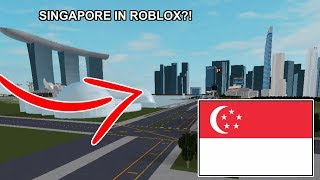 (National Day Special) SINGAPORE but in ROBLOX?!