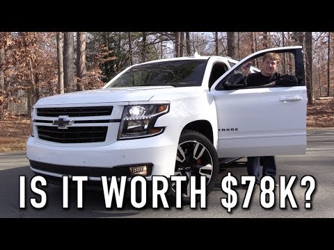 In Depth Tour & Test Drive of the 420 hp Chevrolet Tahoe RST Premier!