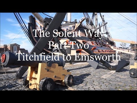 The Solent Way Part Two Titcfield to Emsworth Oct 2017.