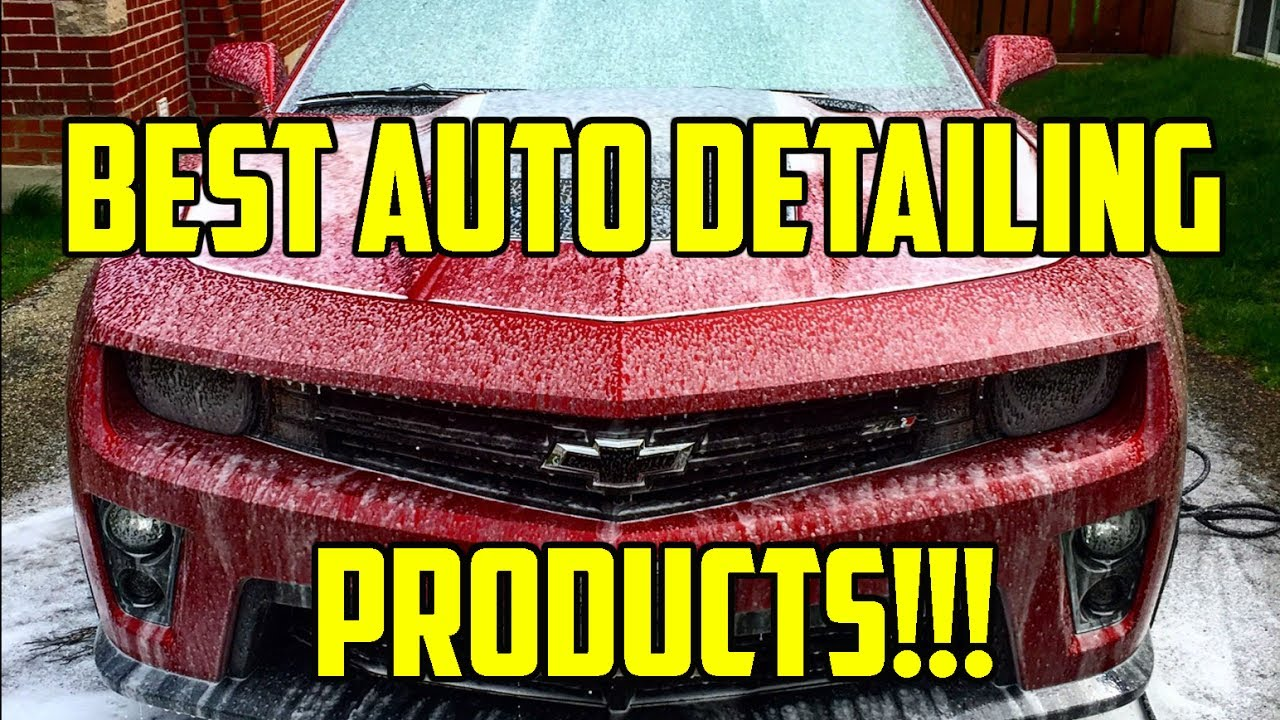 Best interior car detailing products - Best Auto Detailing Products