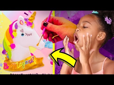 Glitter Toy Art  - Cute Unicorn Coloring & Drawing for Kids  ☆