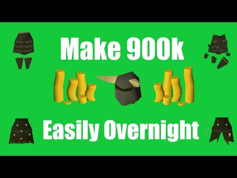[OSRS] Make 900k+ Overnight While Sleeping - Oldschool Runescape Money Making Method!