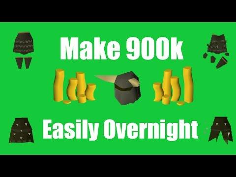[OSRS] Make 900k+ Overnight While Sleeping - Oldschool Runescape Money Making Method!
