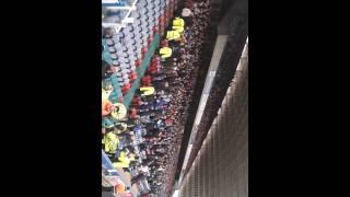 Leeds fans at Huddersfield