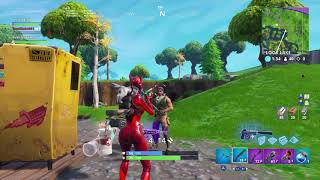 Fortnite No skin Gives up all his loot