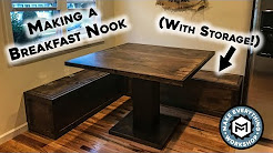 Making a Breakfast Nook ( With Storage)!