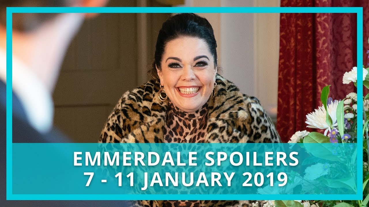 Emmerdale spoilers: 7 - 11 January 2019