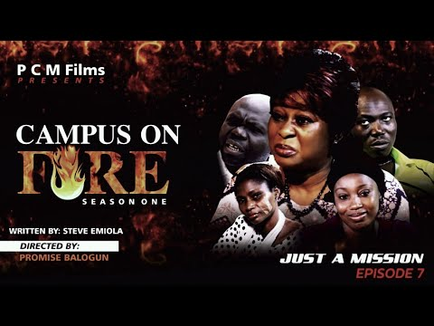 Download JUST A MISSION Ep 7 | Campus On Fire Series | PCM Films | #Directed by Promise Balogun