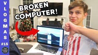 NO MORE VIDEOS! BROKEN COMPUTER!!