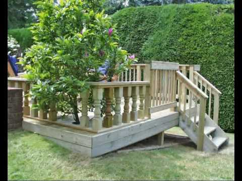 How To Build A Deck Part 07 Fitting Handrail And