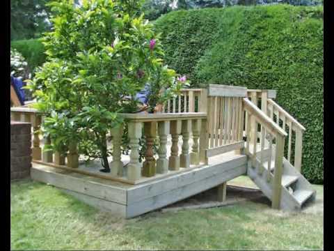 Garden Ideas Decking And Paving