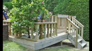 How To Build A Deck. Part 07- Fitting Handrail And Balustrading. How To Build A Deck With Q-deck.