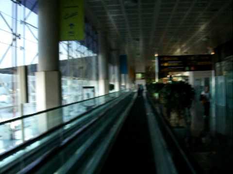 Arrivée à l'aéroport de BCN