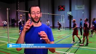 Sport : l'équipe de France handisports de volley à Montigny-le-Bretonneux