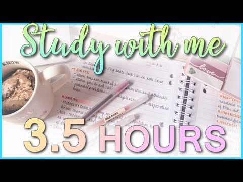 Study With Me - Study Live Stream #169 (6 HOURS) 50/10