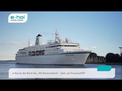 e-hoi unterwegs auf der MS Deutschland (ehemaliges ZDF Traumschiff)