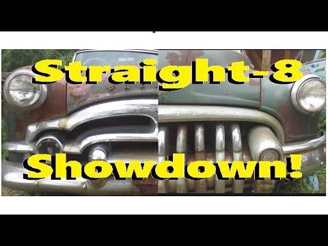 Will they Run? Straight-8 Showdown! Packard vs Buick, Part1