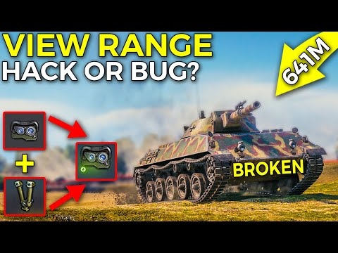 640m+ View Range Hack, Bug or ...? | World of Tanks Rheinmetall Panzerwagen Update 1.10