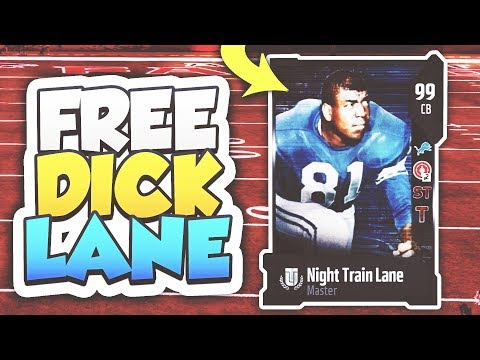 99 OVERALL NIGHT TRAIN LANE ULTIMATE MASTER FOR *FREE* Madden 18 Ultimate Team