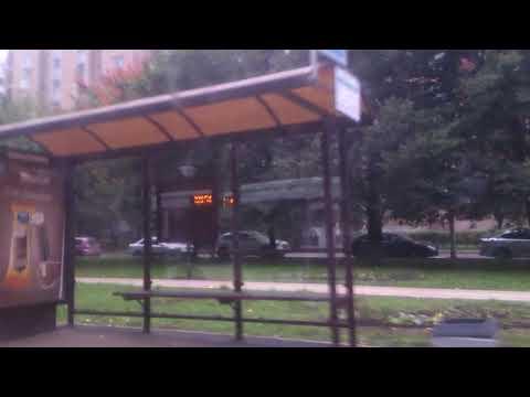 Москва, автобус 102, участок Детская поликлиника - Захарково