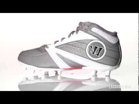 1aa554a5e WARRIOR SECOND DEGREE 3.0 LACROSSE CLEATS 70503 - YouTube