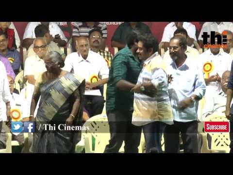 Exclusive   1௦௦ மூத்த கலைஞர்களுக்கு தங்கம் வழங்கிய Vijay Sethupathi   Jananathan   Ulagayutha