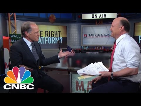 Platform Specialty Products Corp CEO: Platform Performance? | Mad Money | CNBC