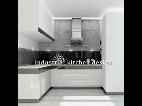 Homebliss Black And White Kitchen Designs Youtube