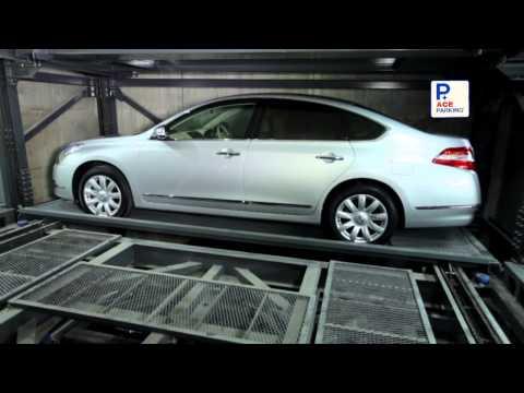 mechanical parking, parking system, automatic parking