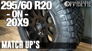 Custom Offsets Match Up: 20x9 on a 295/60 R20