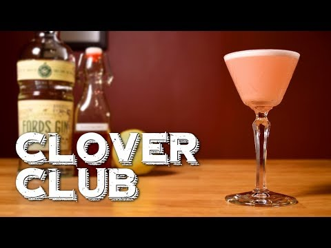 Clover Club - How To Make The Pre-Prohibition Gin Drink & The History Behind It