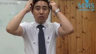 남자 옆머리 뜨는 머리 포마드리젠트커트 머리만지는사람 …